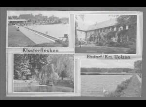 Neg6118/ Klosterflecken Ebstorf Kr. Uelzen altes Negativ 50/60er Jahre