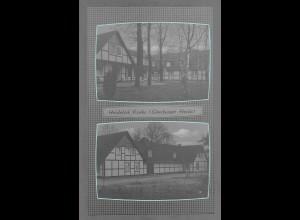 Neg6119/ Heidehof Eimke Lüneburger Heide altes Negativ 50/60er Jahre