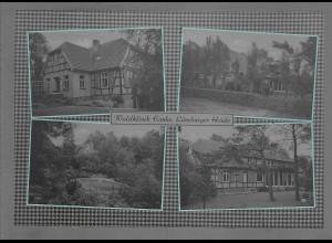 Neg6120/ Waldklinik Eimke Lüneburger Heide altes Negativ 50/60er Jahre