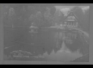 Neg6121/ Heidehof Eimke Lüneburger Heide altes Negativ 50/60er Jahre