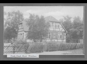 Neg6124/ Eimke Waldhaus Lüneburger Heide altes Negativ 50er Jahre