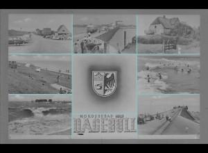 Neg6135/ Nordseebad Dagebüll altes Negativ 50/60er Jahre