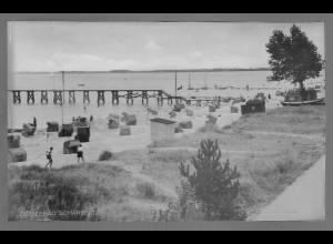 Neg6171/ Ostseebad Scharbeutz altes Negativ 40/50er Jahre