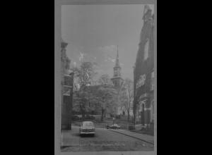 Neg6175/ Kellinghusen Kirche altes Negativ 50er Jahre