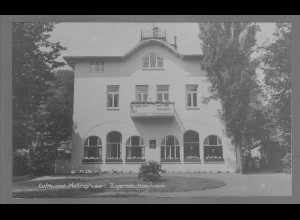 Neg6177/ Kellinghusen Jugendaufbauwerk altes Negativ 50er Jahre