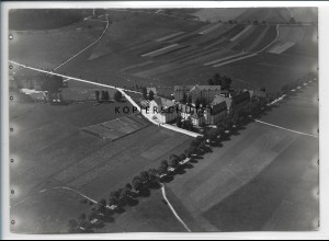 ZZ-5180/ Ursberg Foto seltenes Luftbild 18 x 13 cm ca.1938