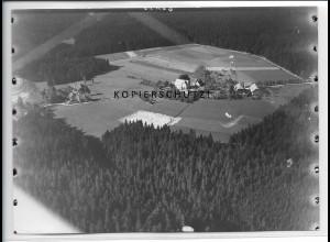 ZZ-5184/ Oedenwald b. Freudenstadt Foto seltenes Luftbild 18 x 13 cm ca.1938