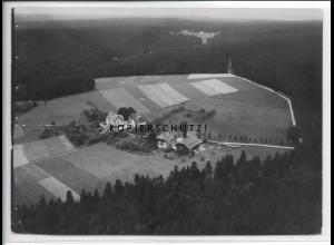 ZZ-5183/ Oedenwald b. Freudenstadt Foto seltenes Luftbild 18 x 13 cm ca.1938