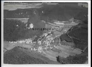ZZ-5100/ Eybach Foto seltenes Luftbild 1938 18 x 13 cm