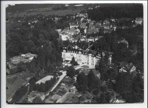 ZZ-5078/ Badenweiler Foto seltenes Luftbild 1937 18 x 13 cm
