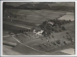ZZ-5080/ Hölzlehof Berghaus b. Fützen Foto seltenes Luftbild ca.1938 18 x 13 cm