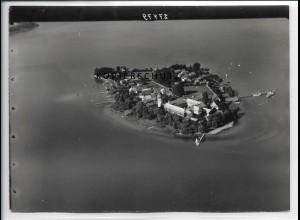 ZZ-5082/ Chiemsee Fraueninsel Foto seltenes Luftbild ca.1938 18 x 13 cm