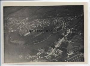ZZ-5302/ Donauwörth Foto seltenes Luftbild 18 x 13 cm 1934