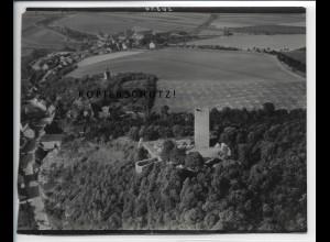 ZZ-5301/ Ruine Sachsenburg Sondershausen Foto seltenes Luftbild 16,5 x 13cm 1939