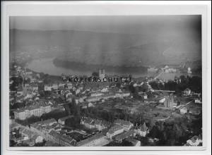 ZZ-5067/ Säckingen Foto seltenes Luftbild 1938 18 x 13 cm