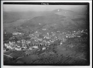 ZZ-5297/ Tiengen bei Waldshut Foto seltenes Luftbild 18 x 13 cm 1938