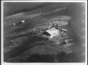 ZZ-5294/ Blomberghaus bei Bad Tölz Foto seltenes Luftbild 18 x 13 cm ca.1938