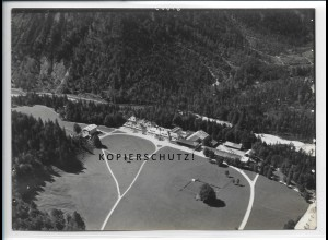 ZZ-5094/ Bad Kreuth Wildbad Foto seltenes Luftbild 1936 18 x 13 cm