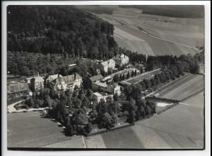 ZZ-5095/ Jordanbad bei Biberach Foto seltenes Luftbild ca. 1936 18 x 13 cm