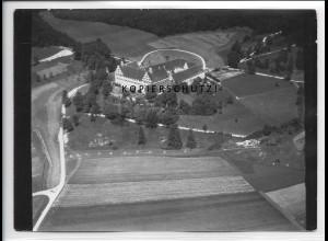 ZZ-5290/ Mochental b. Schöntal Foto seltenes Luftbild 18 x 13 cm 1938