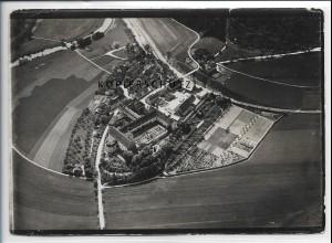 ZZ-5286/ Beuron Kloster Foto seltenes Luftbild 18 x 13 cm 1936
