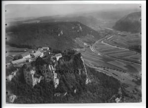 ZZ-5089/ Schloß Werenwag Foto seltenes Luftbild ca.1938 18 x 13 cm