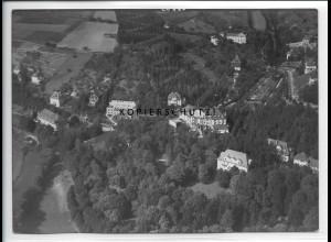 ZZ-5285/ Mergentheim Foto seltenes Luftbild 18 x 13 cm ca.1938