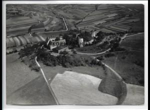 ZZ-5090/ Neuhaus b. Mergentheim Foto seltenes Luftbild 1937 18 x 13 cm
