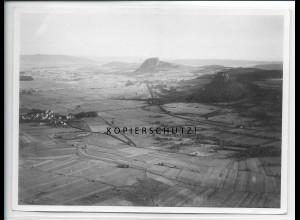 ZZ-5293/ Schlatt bei hegaubergen Foto seltenes Luftbild 18 x 13 cm 1937