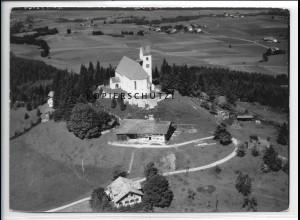 ZZ-5461/ Auerberg bei Bernbeuren seltenes Foto Luftbild 18 x 13 cm 1938