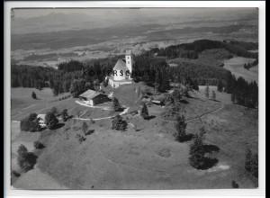 ZZ-5460/ Auerberg bei Bernbeuren seltenes Foto Luftbild 18 x 13 cm 1938