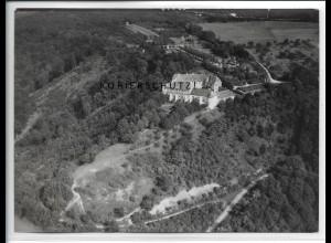ZZ-5462/ Schwanberg bei Rödelsee seltenes Foto Luftbild 18 x 13 cm ca.1938