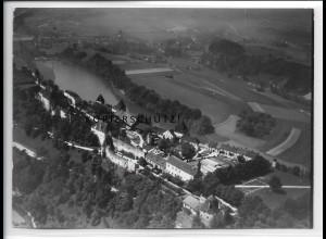 ZZ-5283/ Burghausen Foto seltenes Luftbild 18 x 13 cm 1938