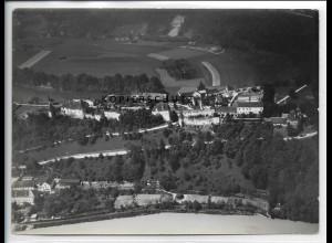 ZZ-5066/ Burghausen Foto seltenes Luftbild 1938 18 x 13 cm
