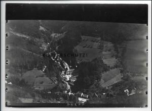 ZZ-5063/ Bad Griesbach Foto seltenes Luftbild 1937 18 x 13 cm