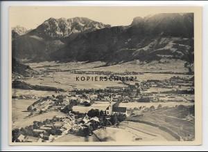 ZZ-5062/ Pfronten Foto seltenes Luftbild ca.1938 18 x 13 cm