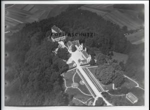 ZZ-5061/ Schloß Seyfriedsberg Ziemetshausen Foto Luftbild ca. 1938 18 x 13 cm