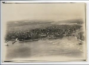 ZZ-5059/ Konstanz Foto seltenes Luftbild 1934 18 x 13 cm