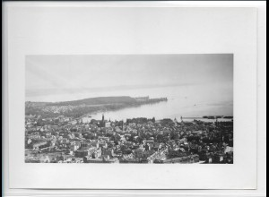 ZZ-5055/ Konstanz Foto seltenes Luftbild ca.1938 18 x 13 cm