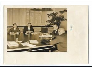 C4518/ Herbert Wehner und Willy Brandt Pressefoto 1964 15 x 11 cm
