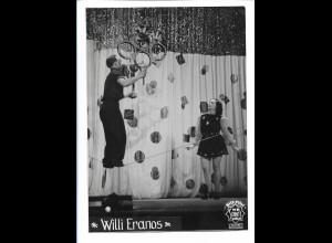 C4519/ Willy Eranos Artist Variete Foto 50er Jahre 17 x 12,5 cm
