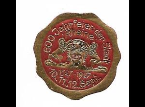 Y19746/ Siegelmarke 600 Jahrfeier der Stadt Rheine 1927
