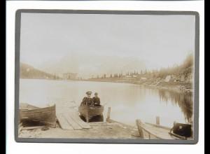 XX14129/ Kabinettfoto Misurinisee Dolomiten Prov. Belluno Südtirol 1904 Pappfoto
