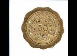 Y19741/ Siegelmarke Oertgen & Schulte Duisburg 50 Jahre 1925