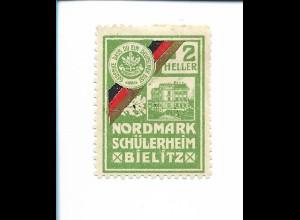 Y19860/ Spendenmarke Nordmark Verein Bielitz Schlesien ca.1914