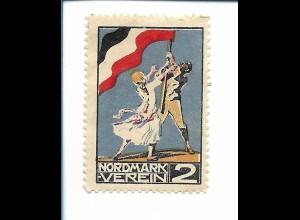 Y19862/ Spendenmarke Nordmarkverein ca.1914