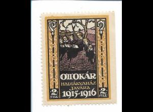 Y19864/ Spendenmarke Ottokar 1915-1916 Böhmen Tschechien