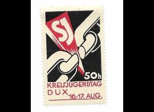 Y19856/ Spendenmarke DUX Kreisjugendtag Böhmen Tschechien