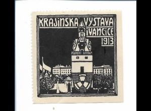 Y19866/ Reklamemarke Krajinska Vystava i Vancice 1913 Tschechien