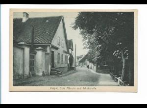 Y19899/ Dorpat Ecke Mönch- u. Jakobstr. Tartu Estland AK ca.1930